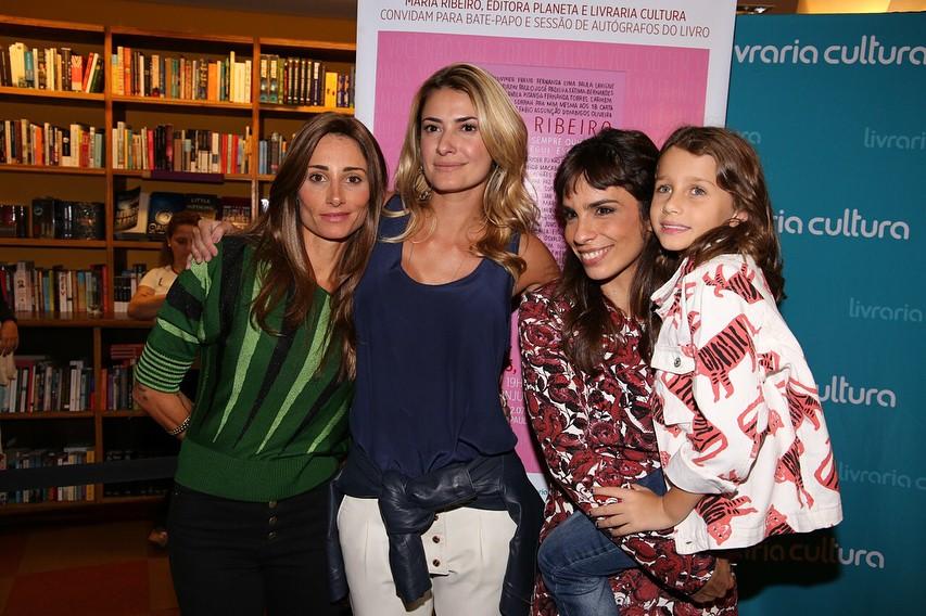 Karina Tavares, Priscila Borgonovi, Maria Ribeiro e Ella Assunção (Foto: Reprodução Instagram)