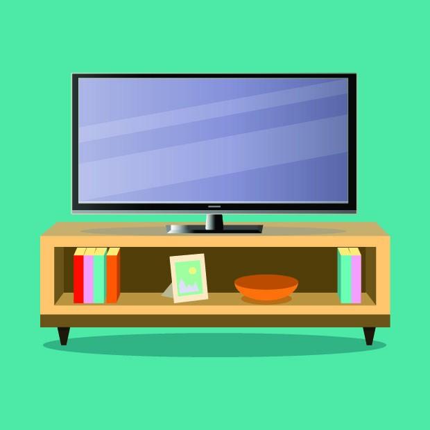 Ilustração de Televisão (Foto: Thinkstock)