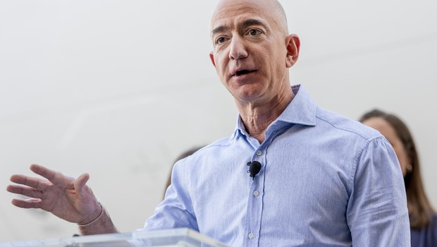 Jeff Bezos, fundador da Amazon (Foto: Getty Images)