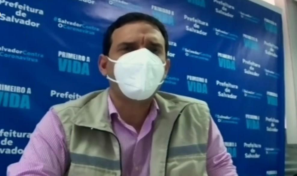Pela 1ª na pandemia, Salvador tem cerca de 100 pessoas aguardando regulação em um dia: 'Não somos invencíveis', diz secretário