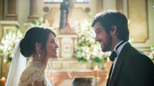 Ernesto e Ema se casam, e fãs do casal 'quebram' a web