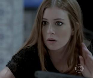 Marina Ruy Barbosa como Maria Ísis em cena de 'Império' | Reprodução
