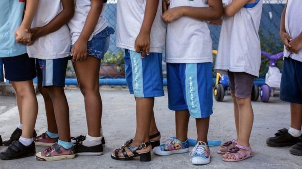 86% das crianças da educação primária estão agora efetivamente fora da escola em países com desenvolvimento humano baixo — Foto: Divulgação/Marizilda Cruppe/CICV