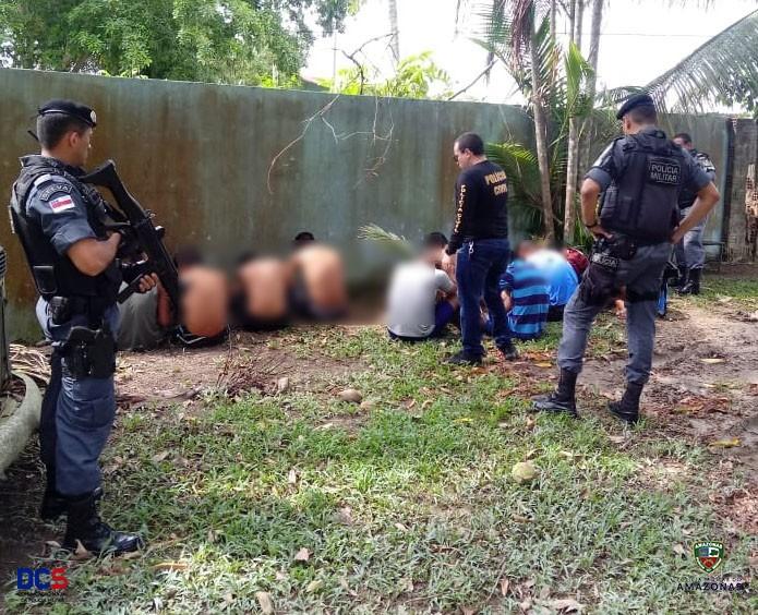 Carceragem de delegacia Rio Preto da Eva passa por revista da PM - Notícias - Plantão Diário