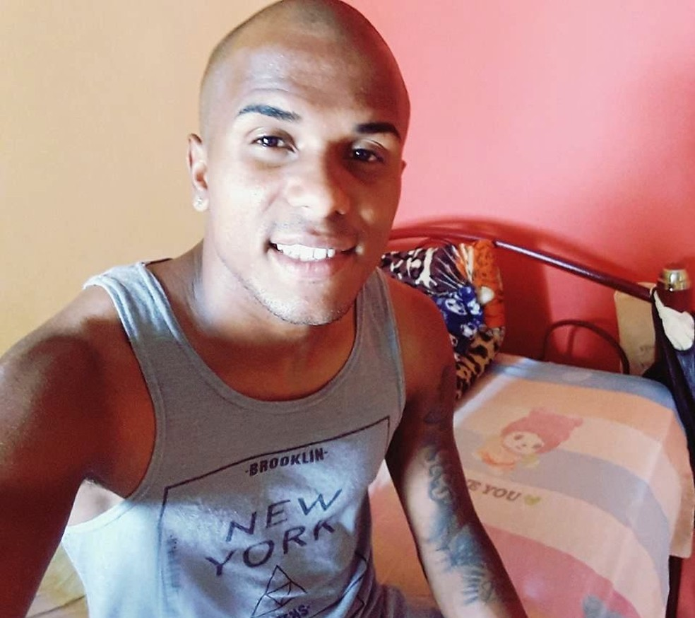Jogador Alan Júnior Pereira Alves foi morto em Praia Grande, SP (Foto: Arquivo Pessoal)