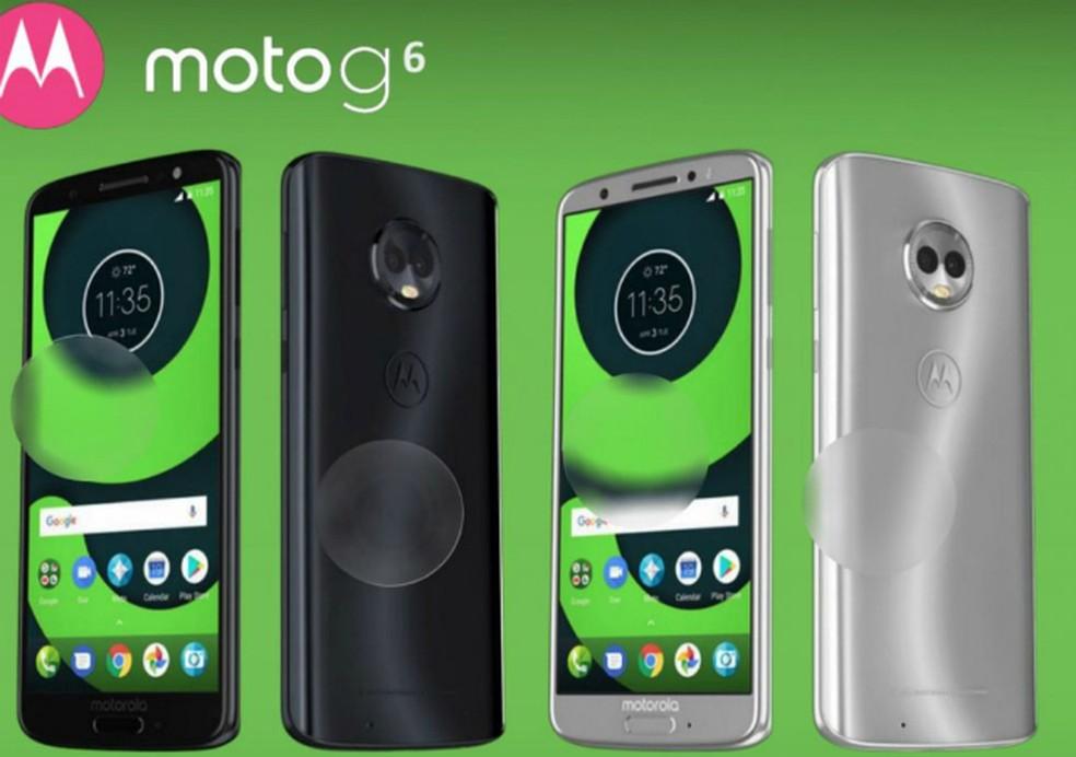 Moto G6 deve ter acabamento em vidro e tela de 5,7 polegadas (Foto: Reprodução/Droid Life)