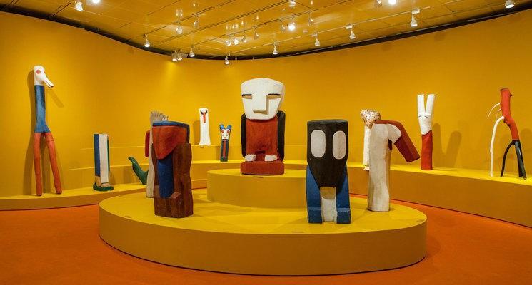 As obras de Véio, no Itaú Cultural (Foto: divulgação)