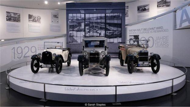 Museus do patrimônio automotivo da Alemanha mostram as inovações que surgiram a partir do Motorwagen, da Benz (Foto: via BBC News Brasil)