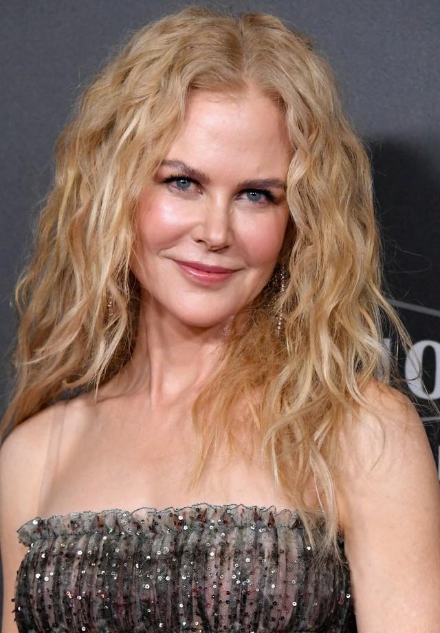 Nicole Kidman no tapete vermelho do Hollywood Film Awards (Foto: Getty Images)