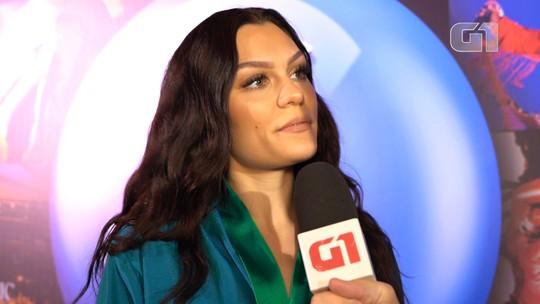 Jessie J diz que tenta ser uma 'coach' quando está no palco e elogia show de Iza: 'Ela é incrível'