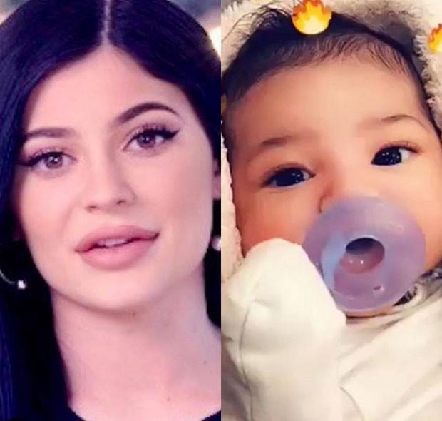 Kylie Jenner e a filha, Stormi (Foto: Reprodução Instagram)