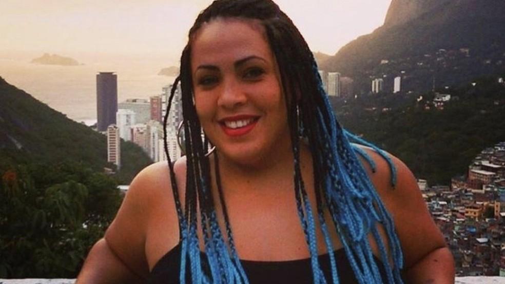 Fabiana Escobar inspirou personagem da novela, a 'Força do Querer', de Glória Perez (Foto: Arquivo pessoal)