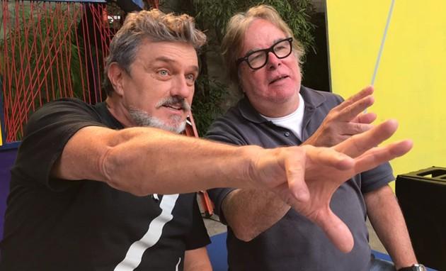 Werner Schünemann e Márcio Trigo  (Foto: Divulgação)