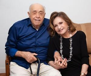 Mauro Mendonça e Rosamaria Murtinho revelam casamento em quartos separados