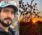 Renato Góes será José Leôncio na primeira fase da remake de 'Pantanal'. Ele viajou ao local e fez registros das locações | Reprodução