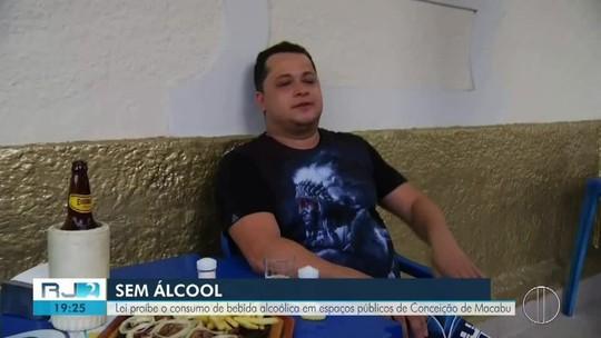Lei que proíbe consumo de bebida alcoólica em espaços públicos divide opiniões em Conceição de Macabu, no RJ