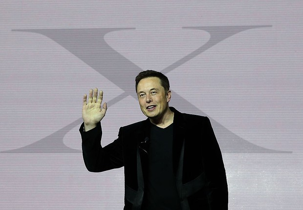 Elon Musk, CEO da SpaceX e da Tesla (Foto: Justin Sullivan/Getty Images)
