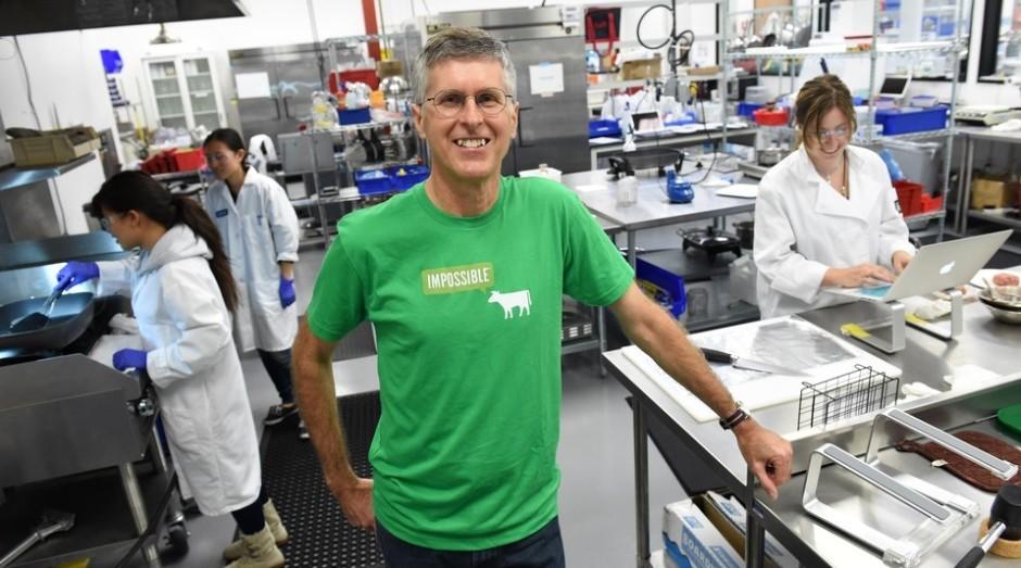 Pat Brown, fundador da Impossible Foods (Foto: Divulgação)