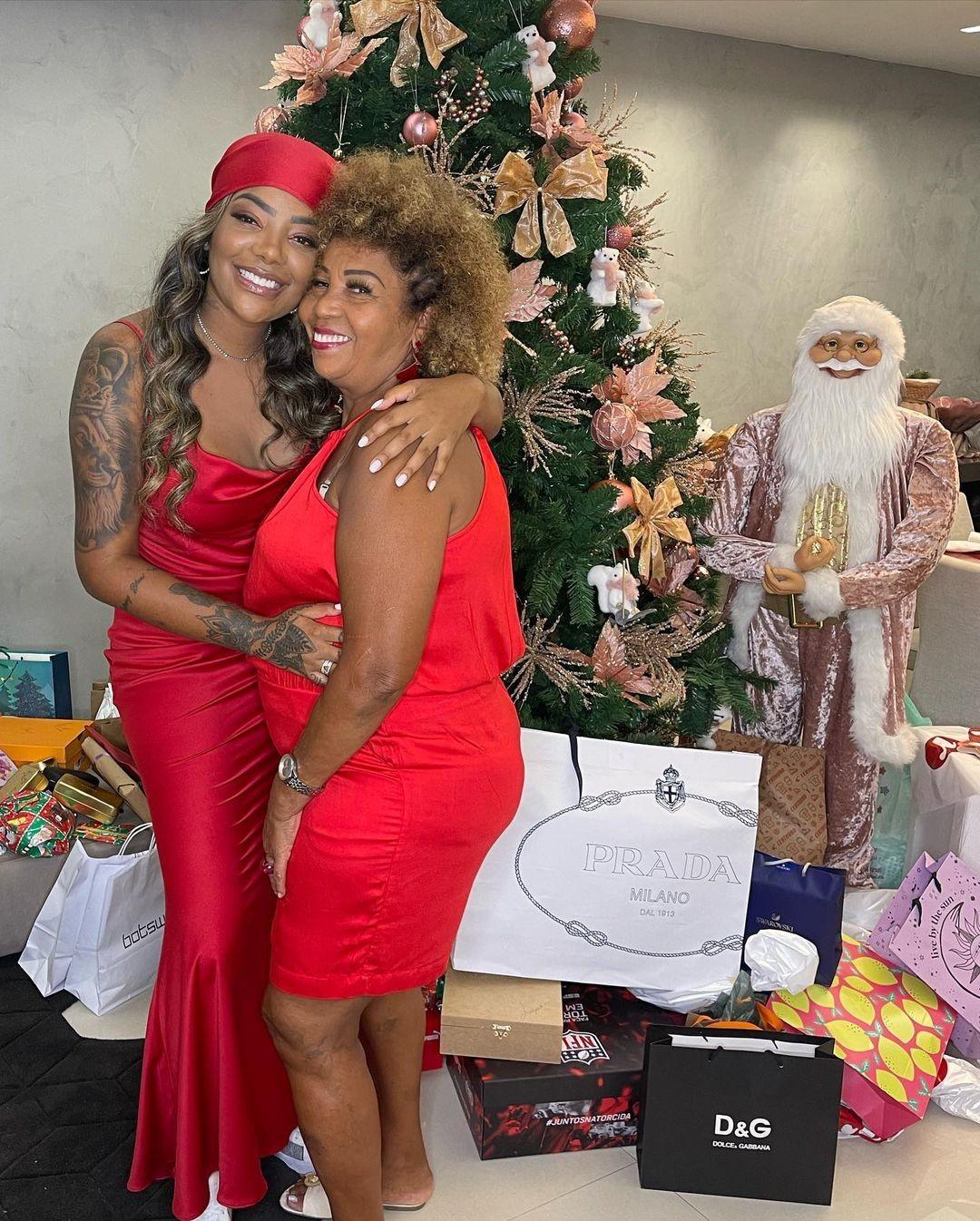 Ludmilla curte Natal em família (Foto: Reprodução/Instagram)