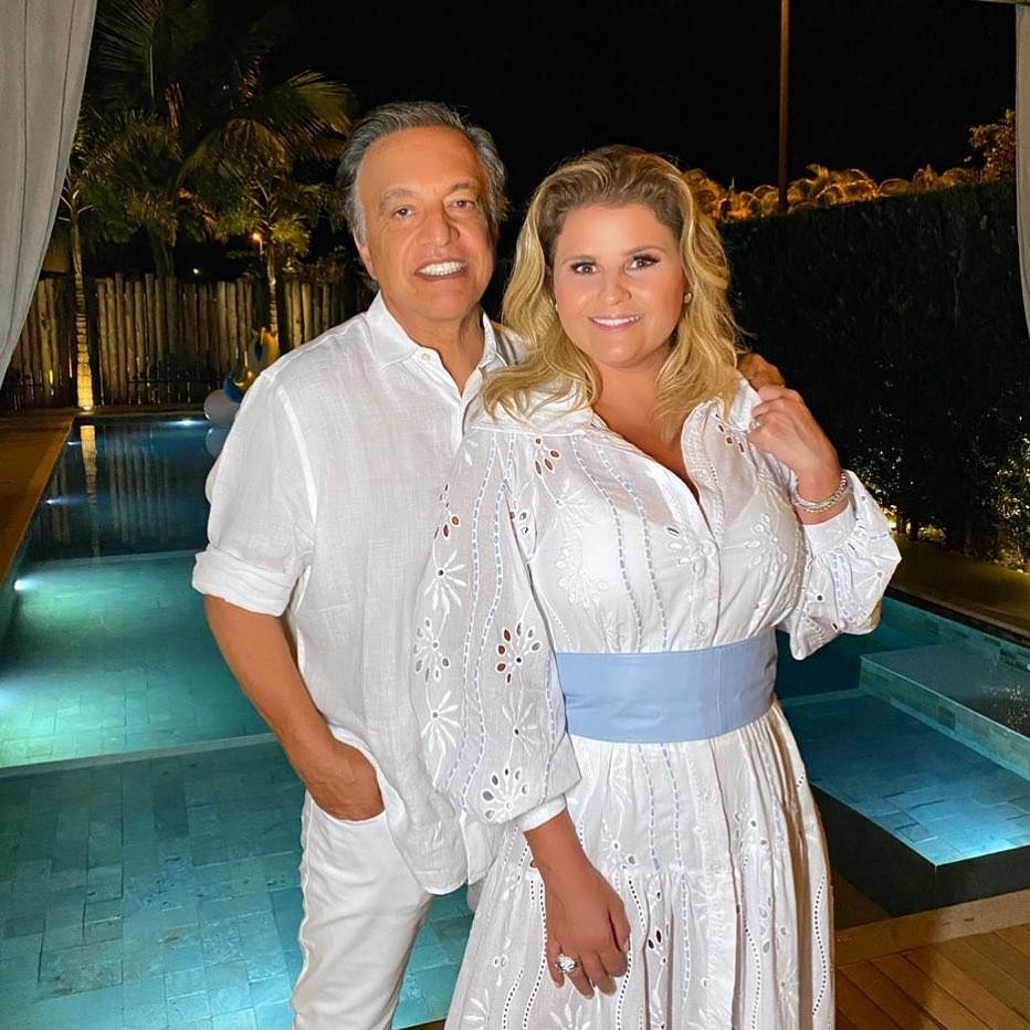 Claudio Pessutti e Helena Caio (Foto: Reprodução/Instagram)