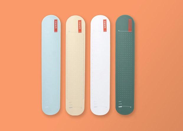 Nova versão de pulseira Bate Enrola serve como caderno de anotações (Foto: Divulgação)