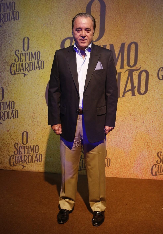 Tony Ramos será o milionário Olavo em 'O Sétimo Guardião' — Foto: Fabiano Battaglin/Gshow