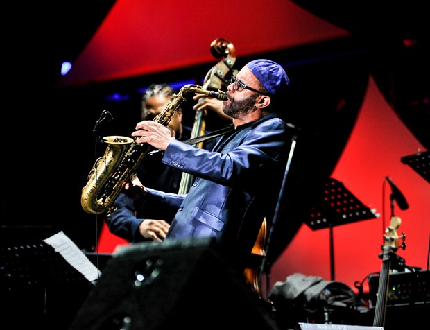 Kenny Garrett se apresenta no Dia Internacional do Jazz de 2014 em Osaka, Japão (Foto: Keith Tsuji/Getty Images para o Thelonious Monk Institute of Jazz)