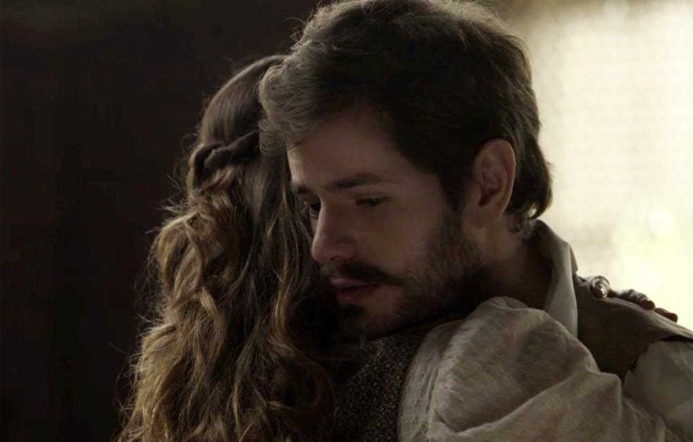 Apesar de emocionado, Camilo agradece a cunhada pelo bate-papo  (Foto: TV Globo)