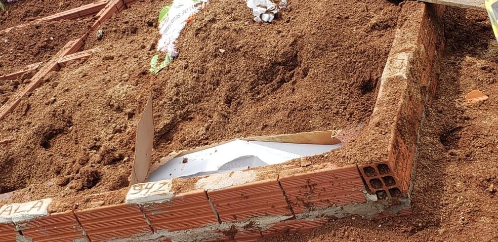 Laudos periciais comprovaram crime de vilipêndio a cadáver — Foto: Polícia Civil / Divulgação
