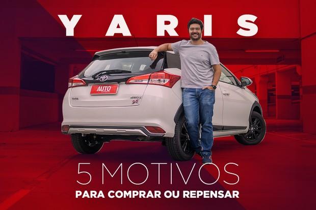Toyota Yaris: 5 motivos para comprar e repensar a compra (Foto: Autoesporte / Simon Plestenjak)