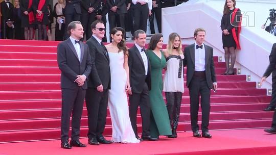 Margot Robbie, Quentin Tarantino, Leo DiCaprio, Brad Pitt chegam ao Festival de Cannes