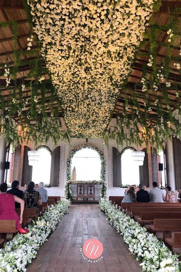 A decoração do casamento de Whindersson Nunes e Luisa Sonza (Foto: Reprodução/Instagram)