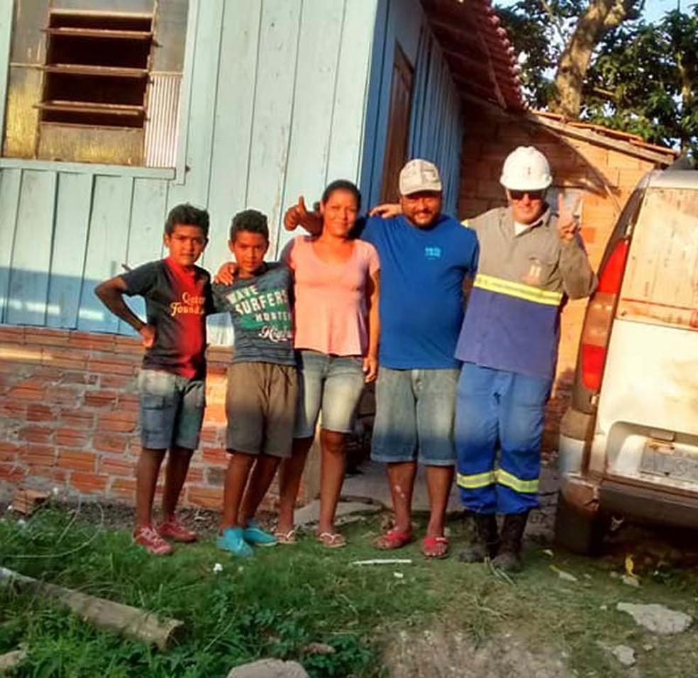 Família mora em Santo Antônio da Platina, no norte do Paraná (Foto: NPDiário)