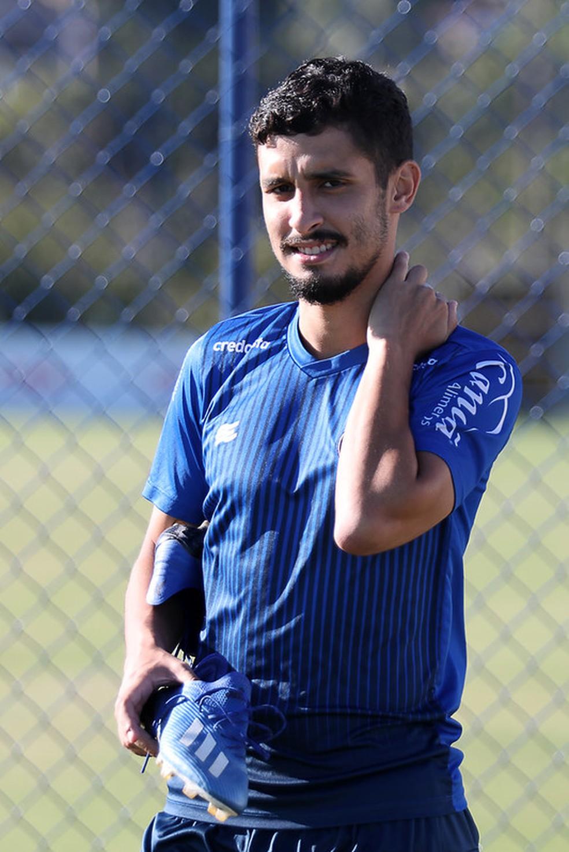Daniel em treino do Bahia — Foto: Felipe Oliveira / EC Bahia / Divulgação