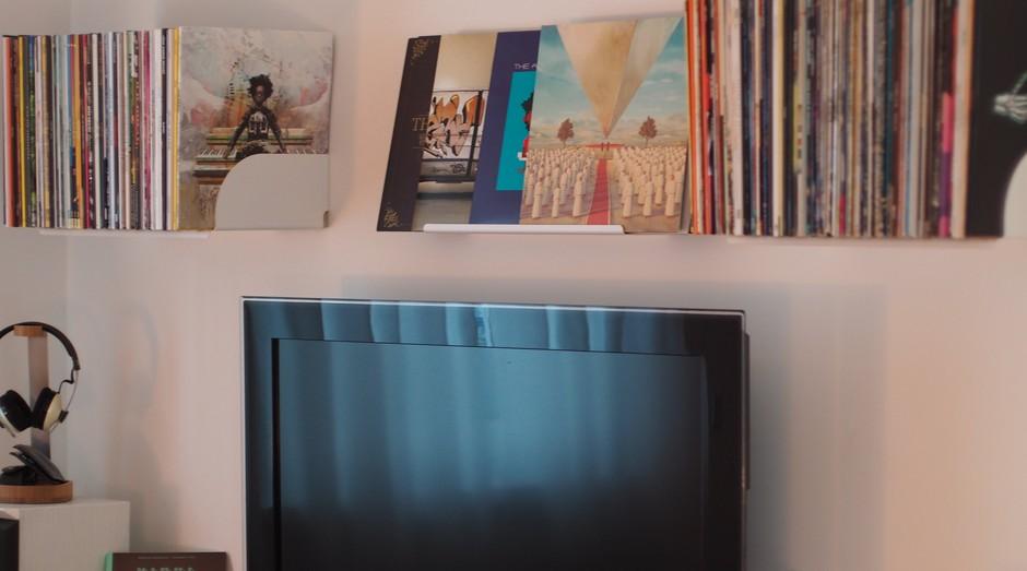 apartamento, sala, televisão (Foto: Reprodução/Pexels)