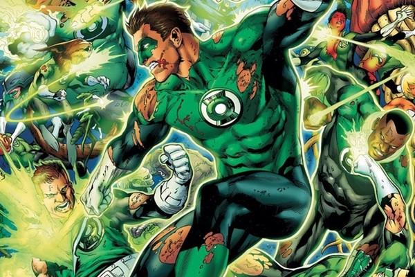 Tropa dos Lanternas Verdes (Foto: Reprodução)