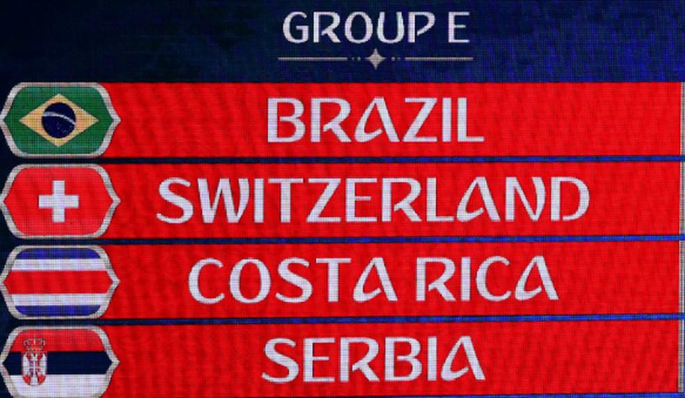 Brasil terá pela frente Suíça, Costa Rica e Sérvia (Foto: Kai Pfaffenbach/Reuters)