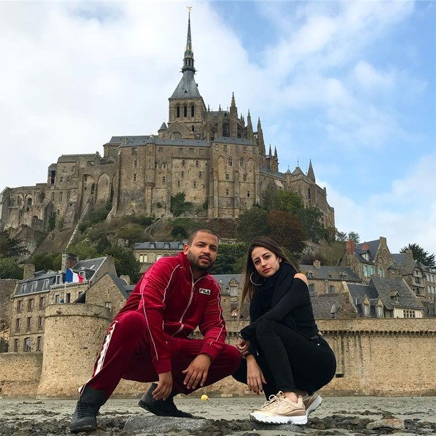 Projota e Tammy Contro (Foto: Reprodução/Instagram)