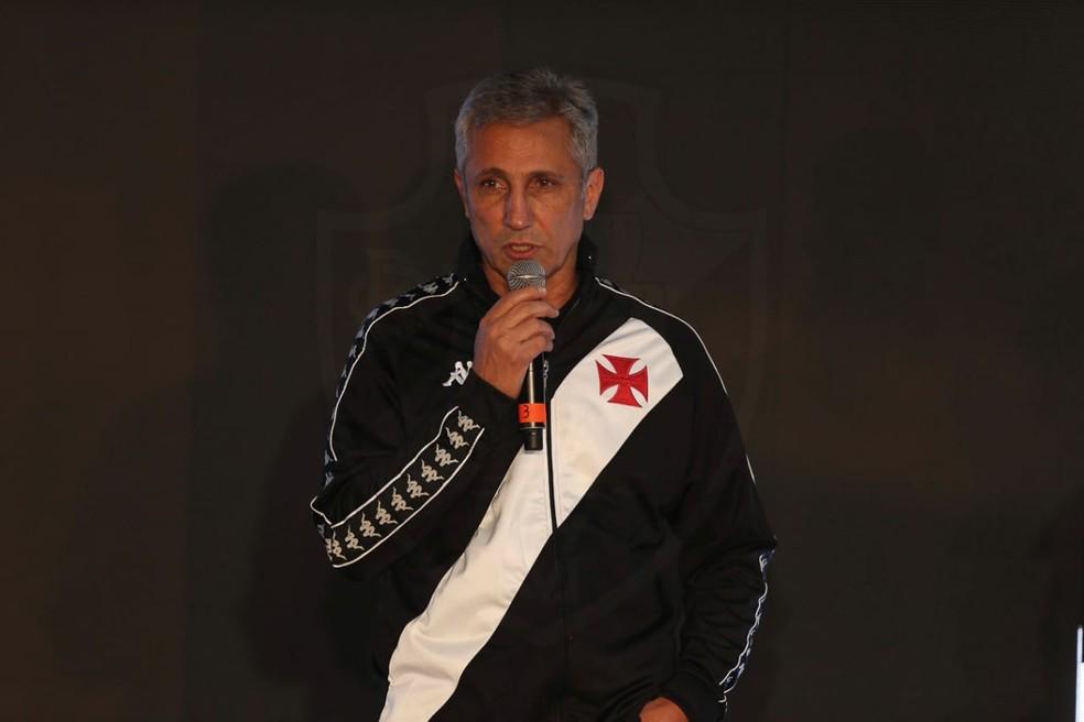 Alexandre Campello é candidato à reeleição — Foto: Rafael Ribeiro/Vasco