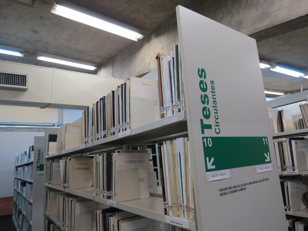 Trabalhos poderão ser encontrados na biblioteca do campus ou de forma online — Foto: Divulgação/Esalq