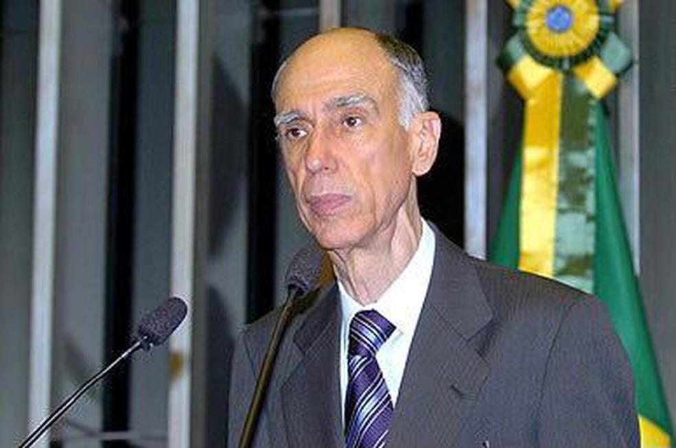 Ex-vice-presidente da República Marco Maciel — Foto: Agência Senado/Reprodução