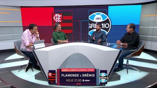 Contra-ataque x pressão: comentaristas divergem sobre postura do Grêmio diante do Flamengo