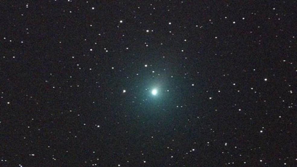 O cometa 46P/ Wirtanen também poderá ser observado na constelação de Touro, se as condições do céu permitirem — Foto: Nasa