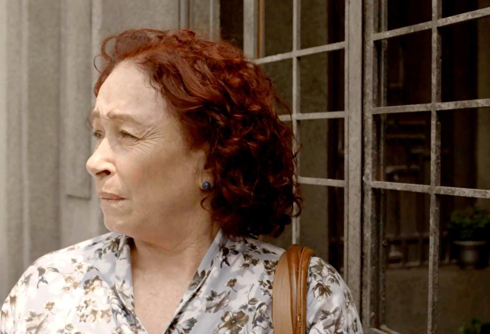 Em 'Amor de Mãe', Tânia é irmã de Eunice — Foto: Globo