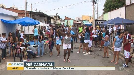 Pré-carnaval agita as ruas de Campinas no fim de semana