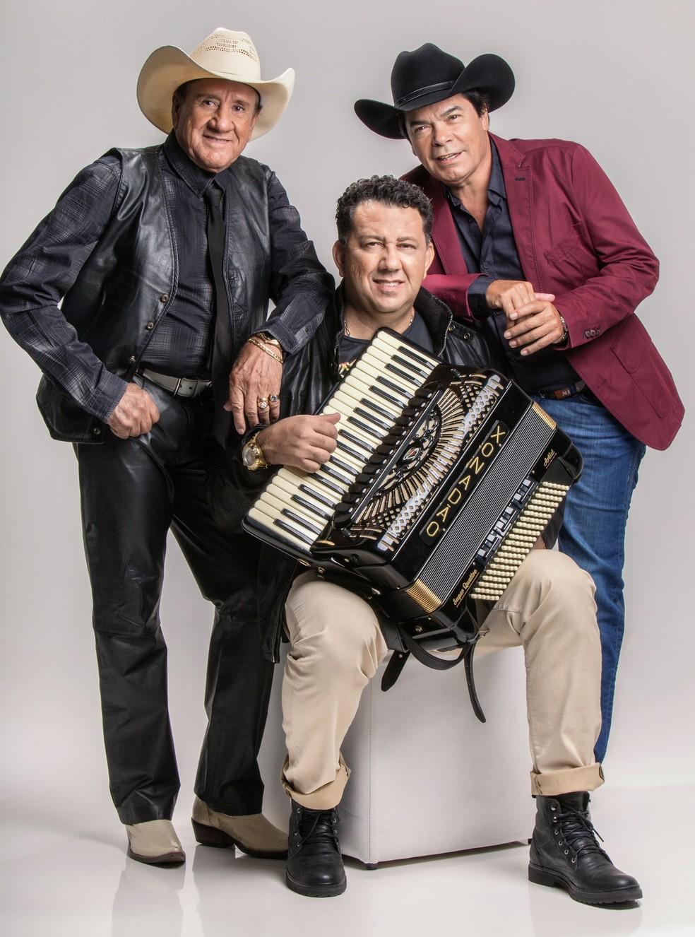 Trio Parada Dura: atual formação é composta por Creone, Parrerito e Xonadão  (Foto: Divulgação)