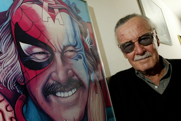O quadrinista e criador do Universo Marvel, Stan Lee (Foto: Getty Images)
