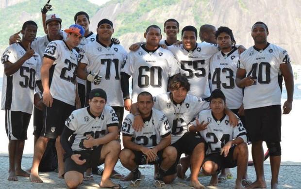 time de futebol americano botafogo (Foto: Arquivo Pessoal)