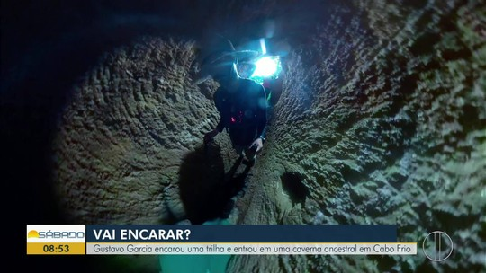 """""""Vai Encarar?"""" faz trilha em Cabo Frio para contar história ancestral da Caverna dos Escravos"""