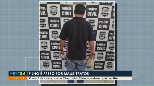 Filho é preso por maus-tratos a pais de 83 e 81 anos em Foz do Iguaçu